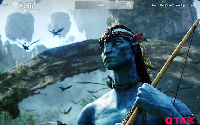 Avatar Wallpapers Theme Avatar Movie New Tab