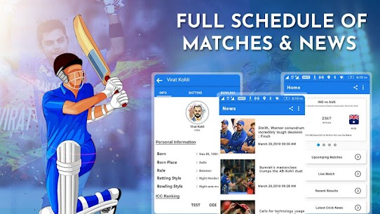 Crick Feed – Live Cricket score & Update 2