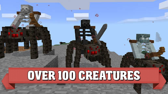 Creatures mod for Minecraft PE - náhled