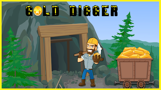 Gold Miner and Digger 2018 - náhled