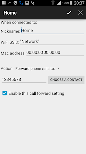 Automatic Call Forwarding- screenshot thumbnail