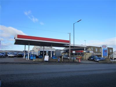 Esso Service Station On Great Horton Road Petrol Filling