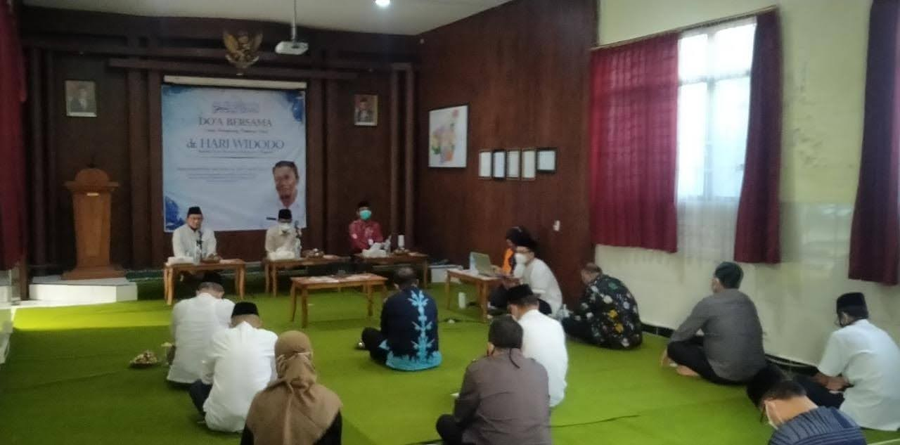 Doa Bersama Untuk Almarhum Dr Hari Widodo Kepala Dinkes Magetan