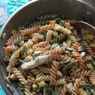 Summer Pasta Salad Recipe - Chicken and Vegetables