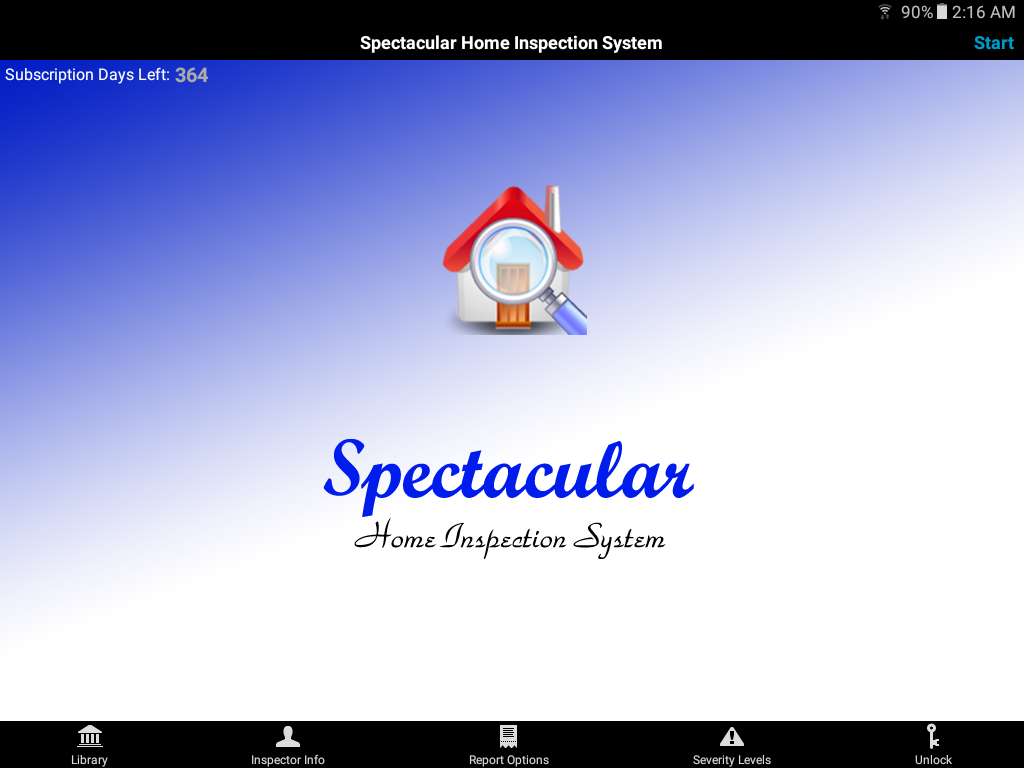 Spectacular Home Inspection System- screenshot