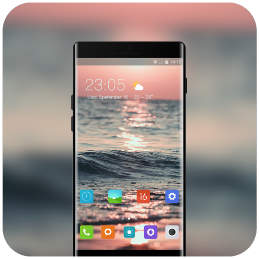 Theme for fantasy ocean oppo r17 pro icon