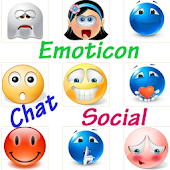 Cute Emoticon Chat Social
