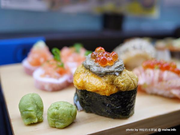 台中丸億生魚片.握壽司@北屯新一點利黃昏市場 : 立食再進化,食材新鮮,有所堅持的傳統市場美味!