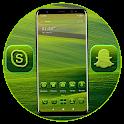 Green Field Launcher Theme icon