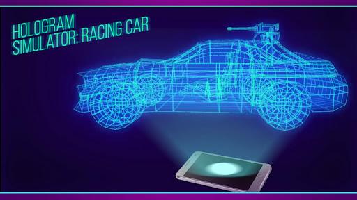 Hologram Simulator: Racing Car