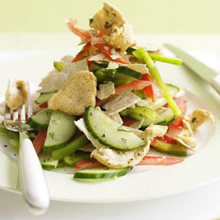 Chicken And Cucumber Salad