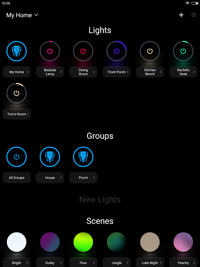 LIFX- screenshot