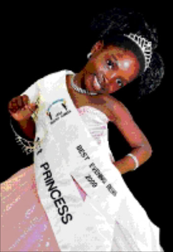 CATCH THEM YOUNG: Natasha is to compete in Miss Little Universe in Turkey. 24/03/09. Pic. Elijar Mushiana. © Sowetan.
