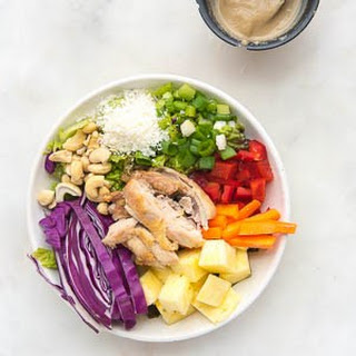 Asian Pineapple Chicken Salad.
