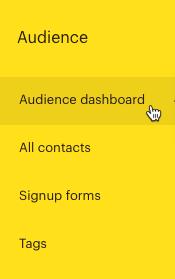 Cursor Clicks - Audience dashboard