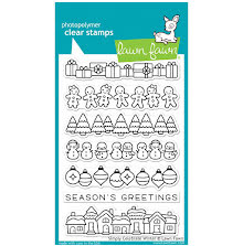 Lawn Fawn Clear Stamps 4X6 - Simply Celebrate Winter