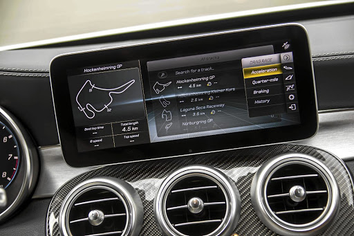 Technology now allows you to better assess your times and skills on the track. Picture: DAIMLER