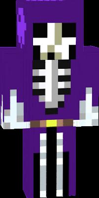 Скелет девушка в майнкрафт фото