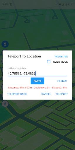 Fake GPS Location - GPS JoyStick 4.0.6 screenshots 2