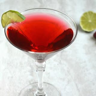 Raspberry Champagne Cosmopolitan