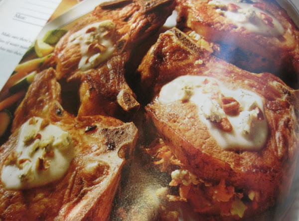 Blue Cheese Stuffed Pork Chops By Rr For The Grill Recipe