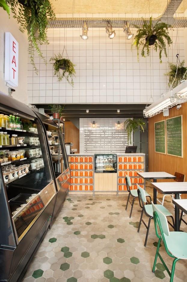 thiết kế quán ăn nhanh - thiết kế cửa hàng ăn nhanh 5