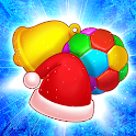 Christmas Journey - Match Candy icon