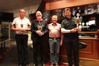 Billede: De glade vindere 2016 Lars Jørgensen (A) Torben Thusing (B) og Niels Vestergaard (C) sammen med Jan Holmer