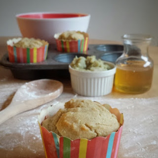 Sweet Potato Honey Muffins