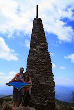Photo: Puig Neulós (1.256m), serra de l'Albera. Guim Comellas (LL/D) i família.