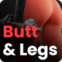 Butt & Legs -Buttocks Workout, Workout at Home icon