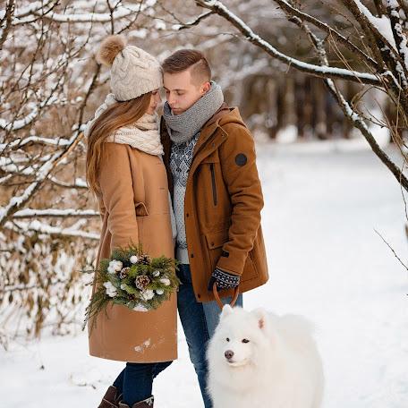 Wedding photographer Anna Fatkhieva (Nush). Photo of 20.01.2017
