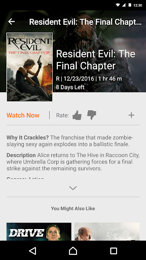 Crackle 6.1.7 Screenshots 4