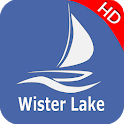 Wister Lake Oklahoma  Offline GPS Charts icon
