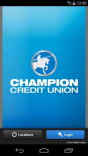 Champion CU Mobile Banking