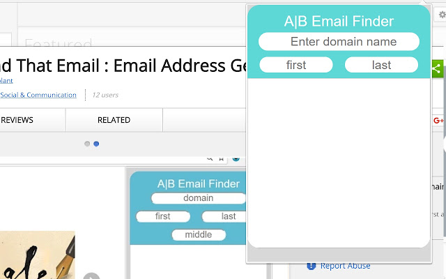 Find That Email : Email Address Generator