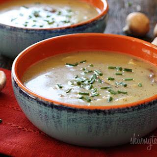 Low Fat Creamy Mushroom Soup
