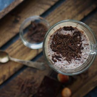 Frozen Hot Chocolate Shake.