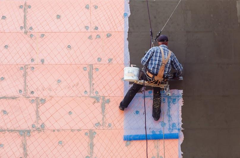 Wykończenie ściany dwuwarstwowej