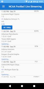 NCAA Football 2018 Live Streaming 1.5 (AdFree)