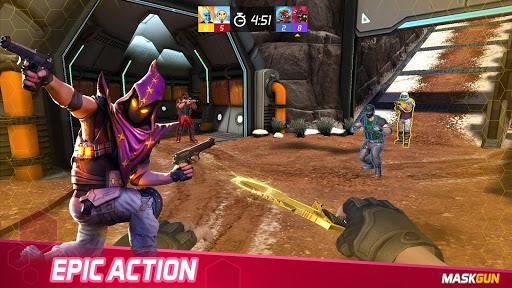 MaskGun Multiplayer FPS - Free Shooting Game apklade screenshots 1