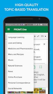 Translator PROMT.One + dictionary & phrasebooks! Mod 20.1.315 Apk [Unlocked] 1