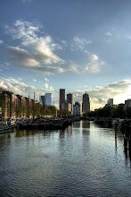 Photo: Rotterdam kanalları ve gün batımı
