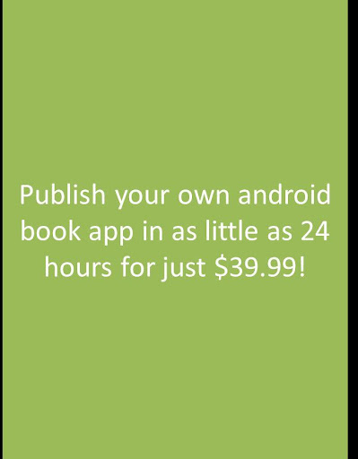 Self Published Book App wAdmob