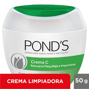 //Crema PONDS C Limpieza   Pepino Remueve Maquillaje Impurezas x50g