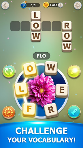 Magic Word - Find & Connect Words from Letters 1.8.2 screenshots 3