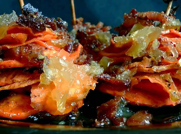 Sweet Potato Stacks With A Kick Recipe