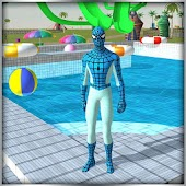 Super Hero Water Slide Uphill Rush Android APK Download Free By MobilePlus