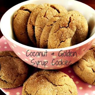 Coconut & Golden Syrup Cookies.