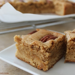 Maple Butterscotch Brownies.